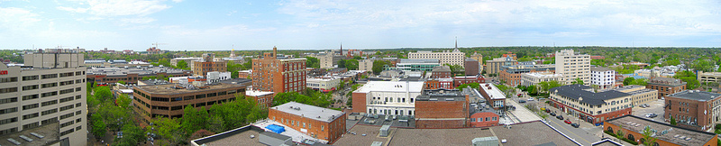 Panorama of Iowa City